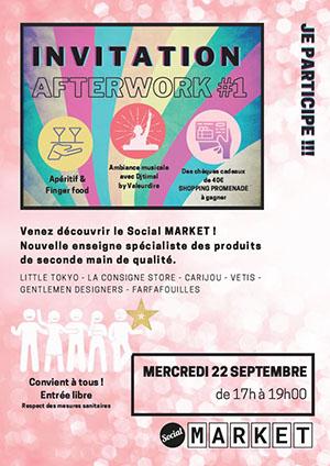 Afterwork au Social Market !
