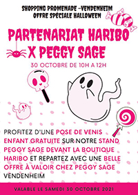 Haribo en partenariat avec Peggy Sage !