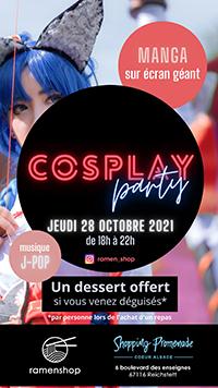 Cosplay Party à Ramen Shop !