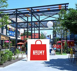 Naumy à Shopping Promenade !