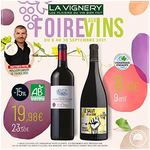 Foire aux Vins à La Vignery !