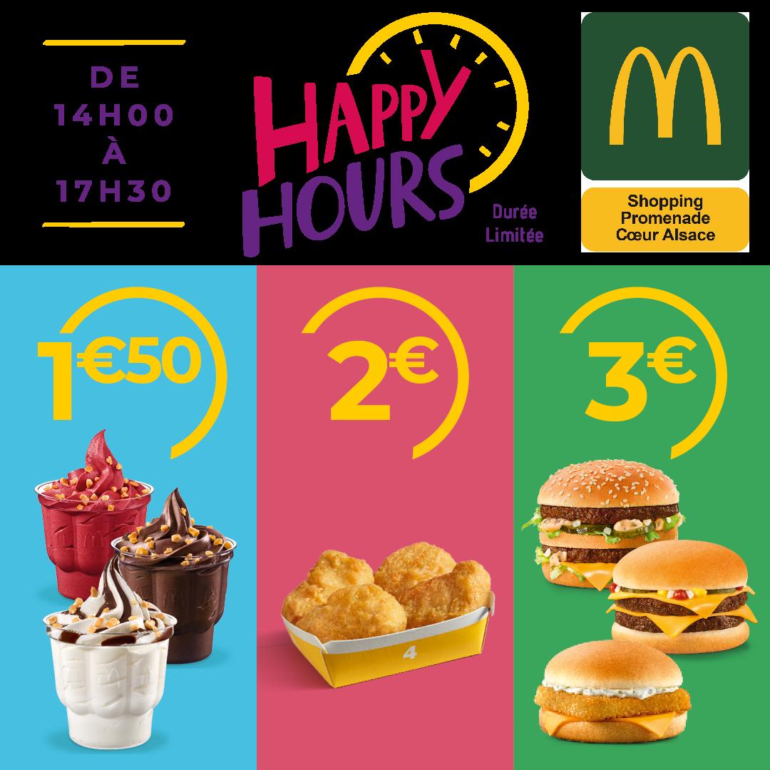 Happy Hours McDonald's