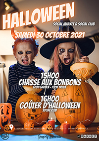 Halloween au Social Club & Social Market !