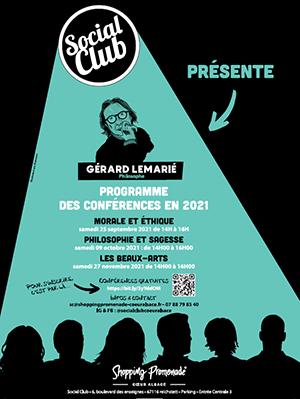 Conférence au Social Club !